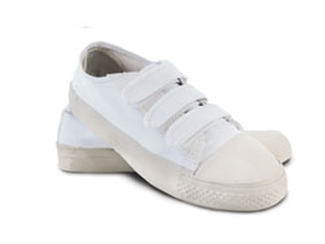 Canvas Velcro Low Top