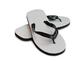 Black Thong Strap Sandal