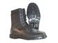 Black Leather Jungle Boot